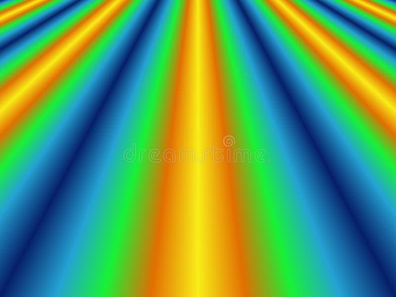 Download Vanishing point stock illustration. Illustration of color - 165178