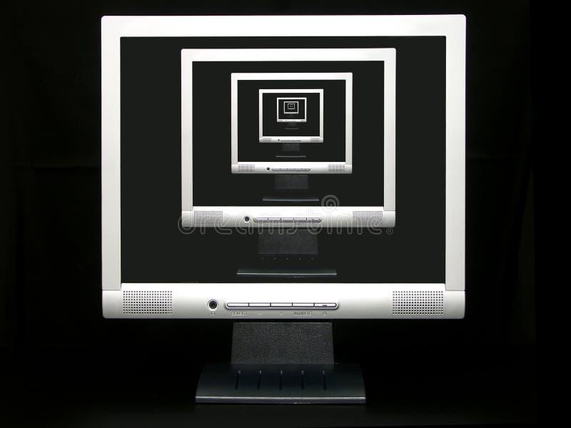 Download Vanishing point stock illustration. Illustration of screen - 466618