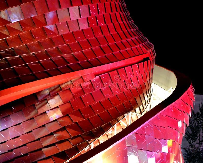 Vankepavilion/Daniel Libeskind royalty-vrije stock afbeeldingen