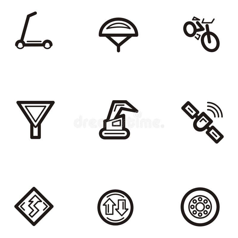 Vanlig serietransport för symbol