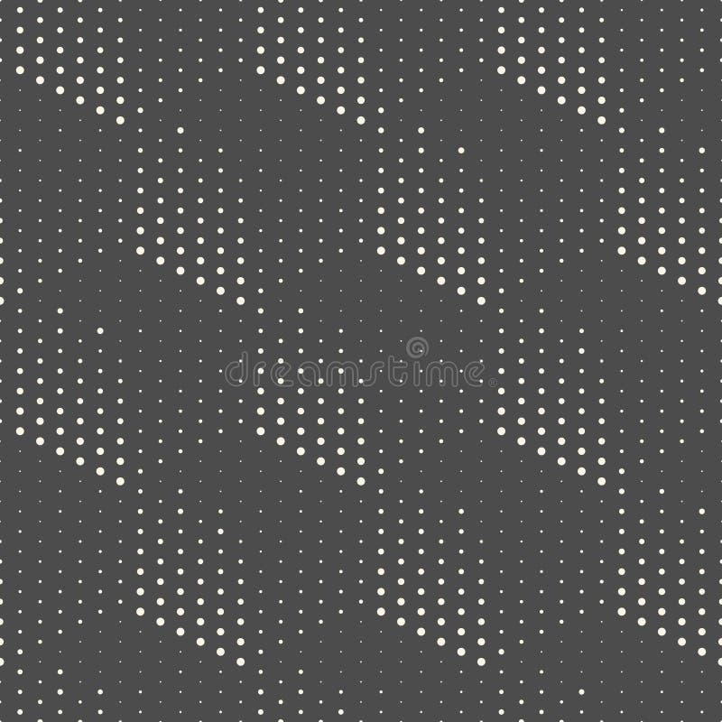 Vanlig textur för vektor Geometrisk bakgrund för modern volym royaltyfri illustrationer