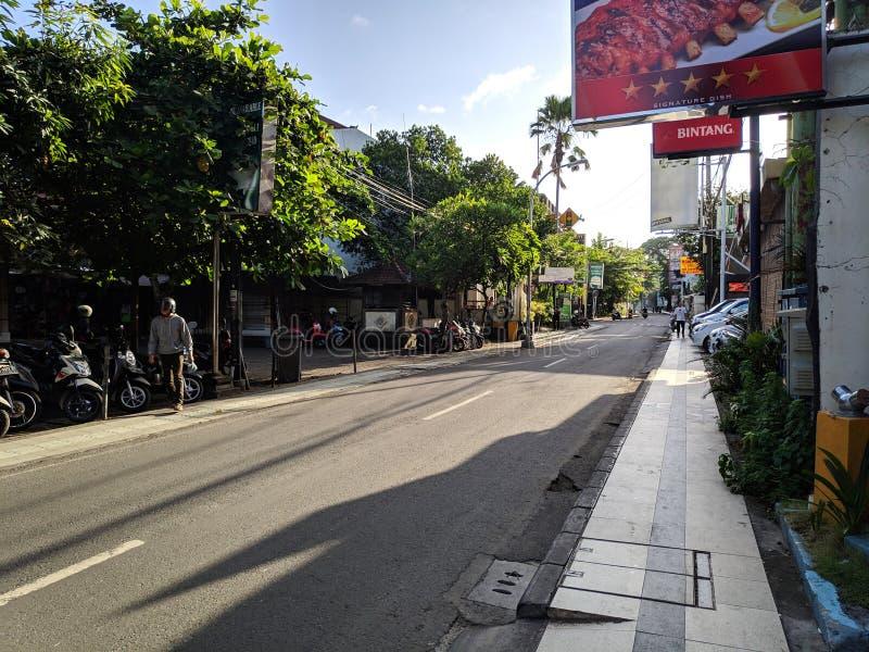 Vanligt gataliv på Bali royaltyfri bild