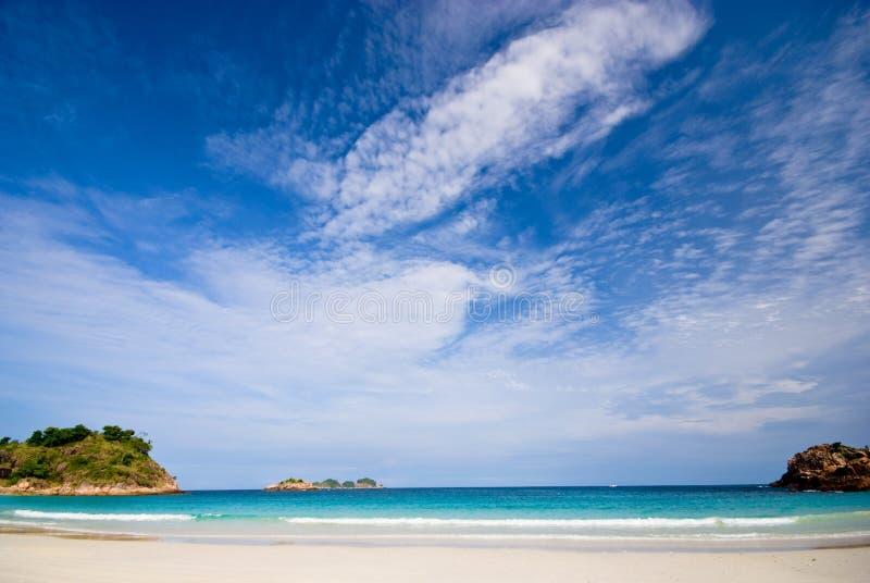 vanligt landskap för strand arkivfoton