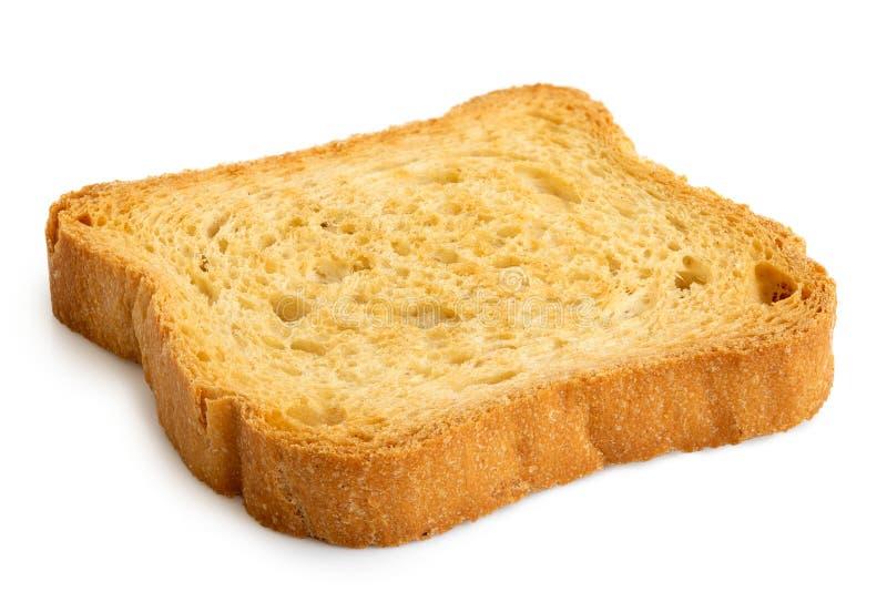 Vanligt melbarostat bröd som isoleras på vit royaltyfria foton