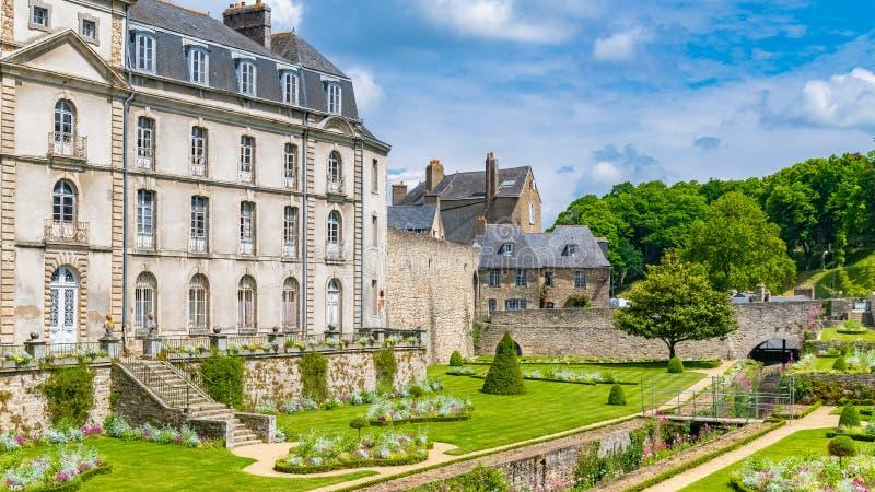Vannes, Francja, średniowieczny miasto w Brittany obraz royalty free
