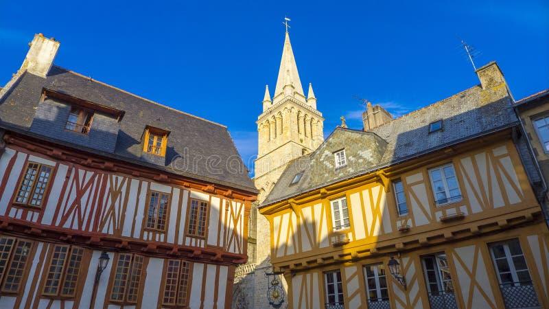 Vannes Francja obrazy royalty free