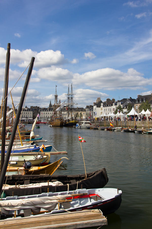 Download Vannes port editorial image. Image of boats, charming - 21120825