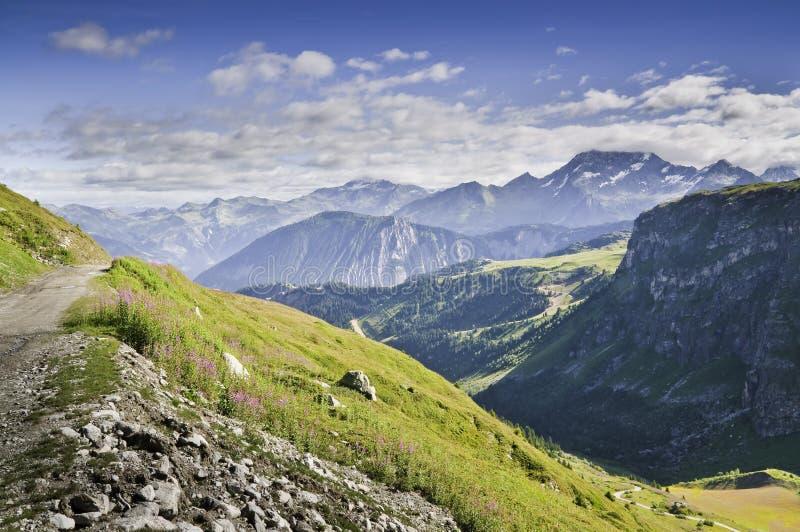 Vanoise Nationalpark stockbild