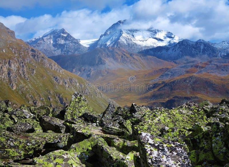 Vanoise park narodowy fotografia stock