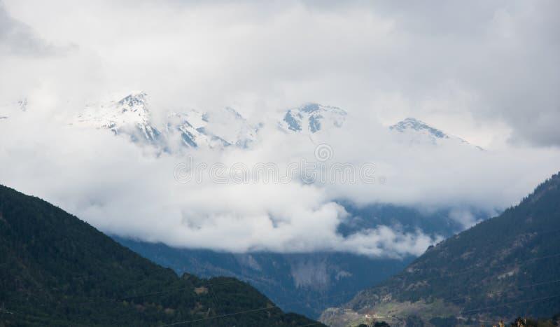 Vanoise park narodowy zdjęcie stock