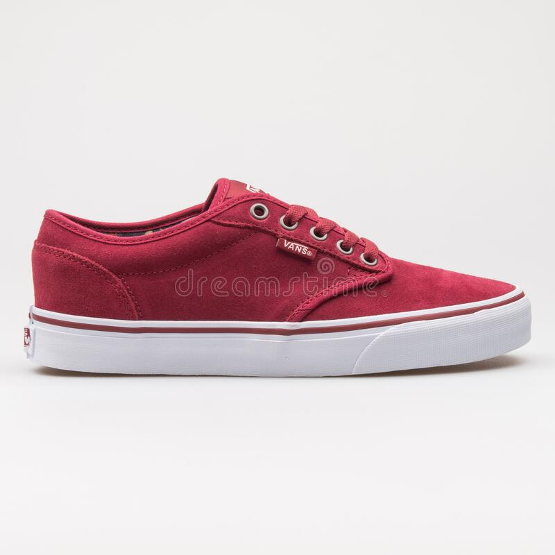 Vans Atwood Red And White Sneaker