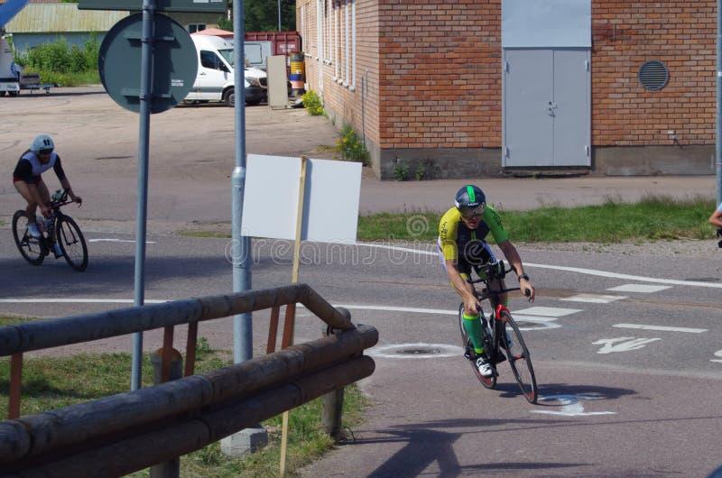 Vansbro Triathlon 30 06 2018 zdjęcie royalty free