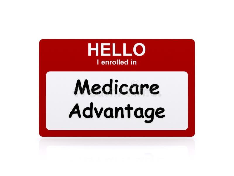 Vantagem de Medicare ilustração royalty free