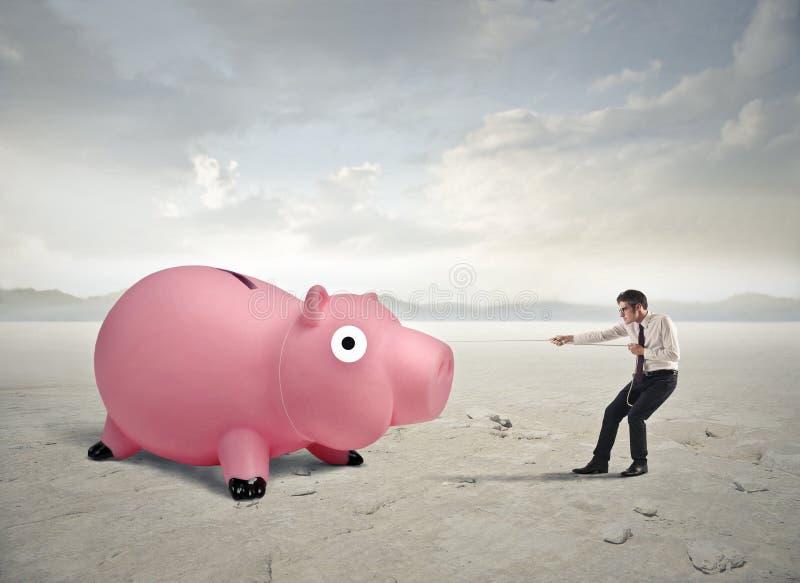 Vanting περισσότερα χρήματα στοκ φωτογραφίες