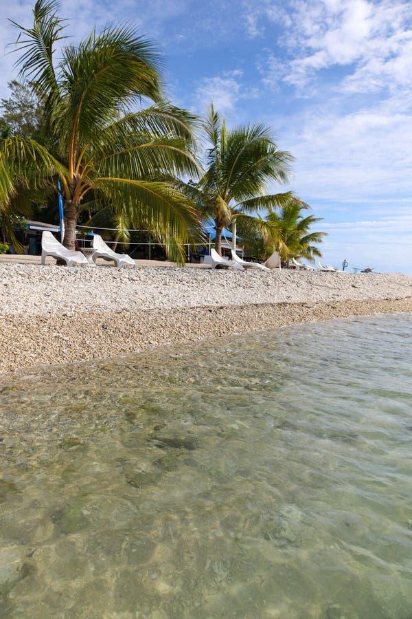 Vanuatu - praia tropical imagens de stock royalty free