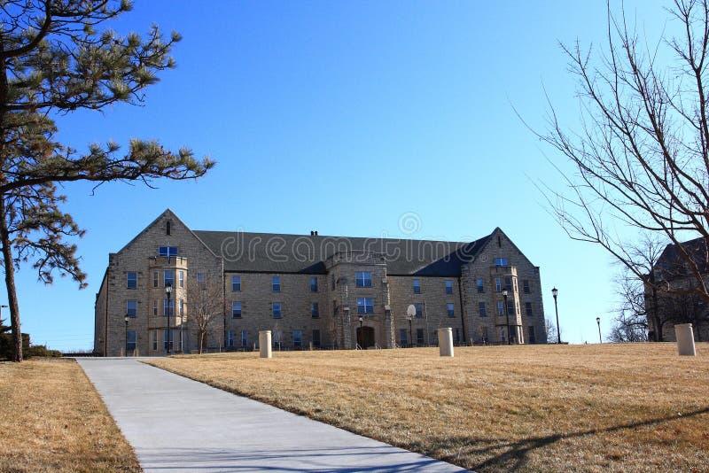VanZile Hall KSU stock image