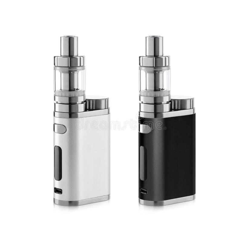 Vape electronic cigarette. Isolated on white background royalty free stock image
