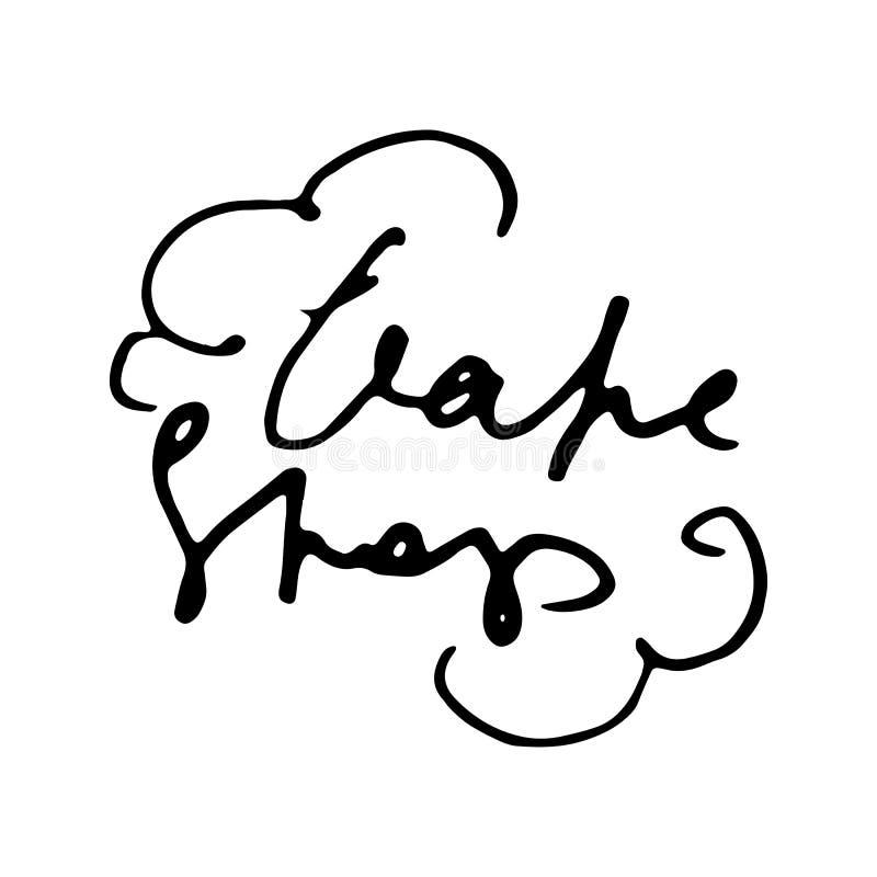 Vape-Shop Schmutzgestaltungselement für Zeichen, Showfenster, Flieger, Fahne, Plakat lizenzfreie abbildung