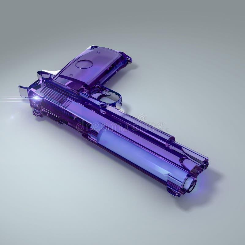 Vapen för blått vatten vektor illustrationer