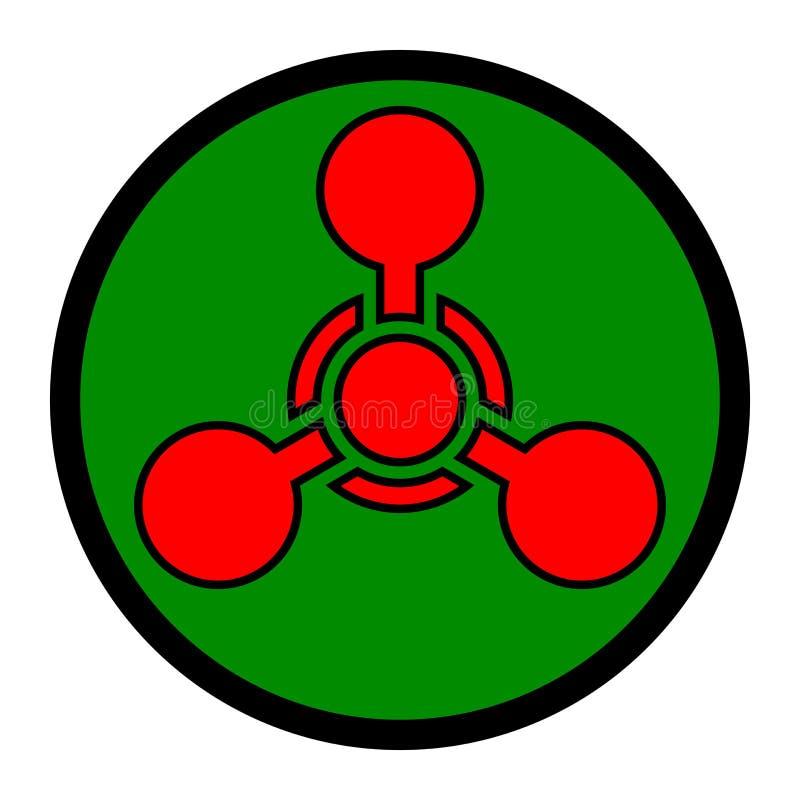 Vapen För Chemical Symbol Fotografering för Bildbyråer