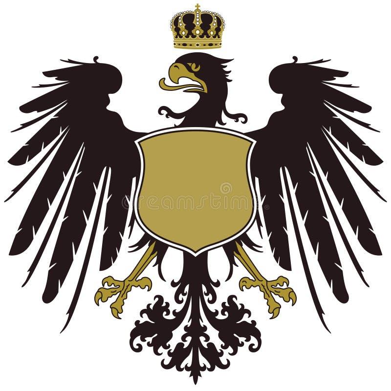Vapensköld av Prussia stock illustrationer