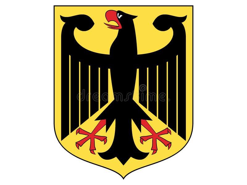 Vapensköld av Tyskland stock illustrationer