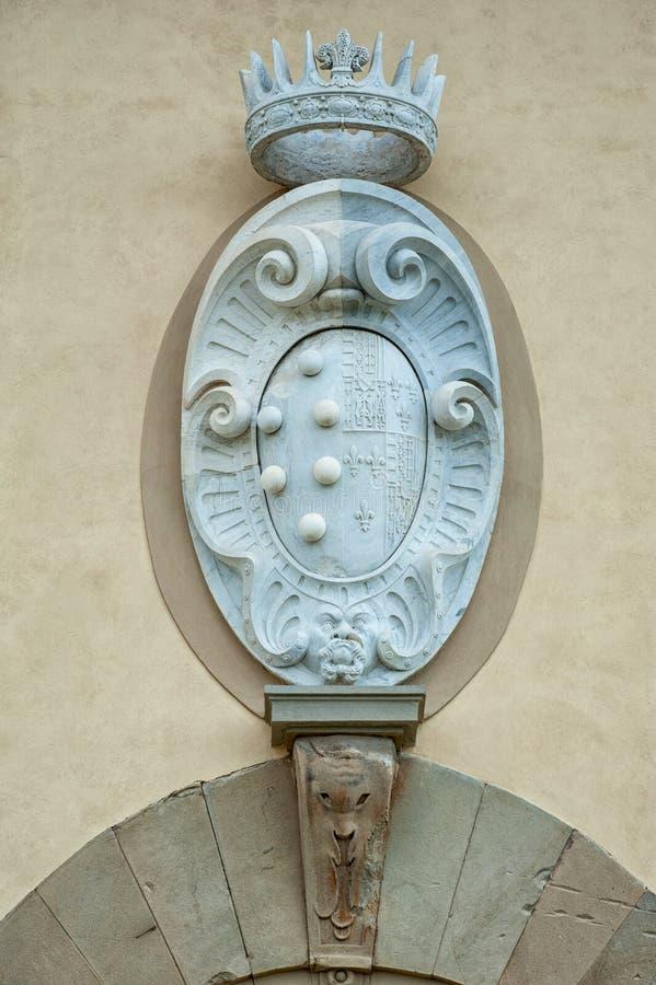 Vapenskölden av Medicien royaltyfri foto
