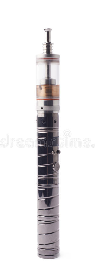 Vaping electronic cigarette devise isolated. Over the white background stock photo
