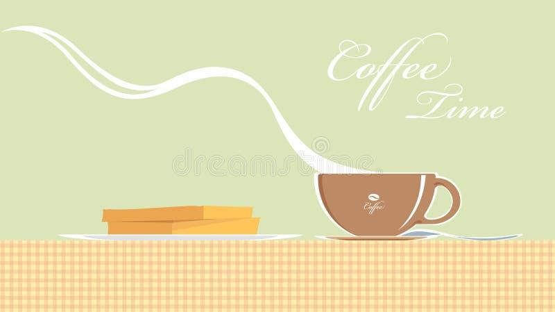 Download Vapor del café del vector ilustración del vector. Ilustración de ilustración - 41916133