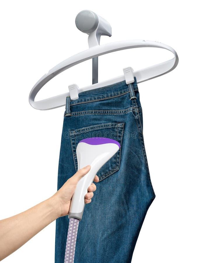 Vapor vertical para la ropa imagen de archivo