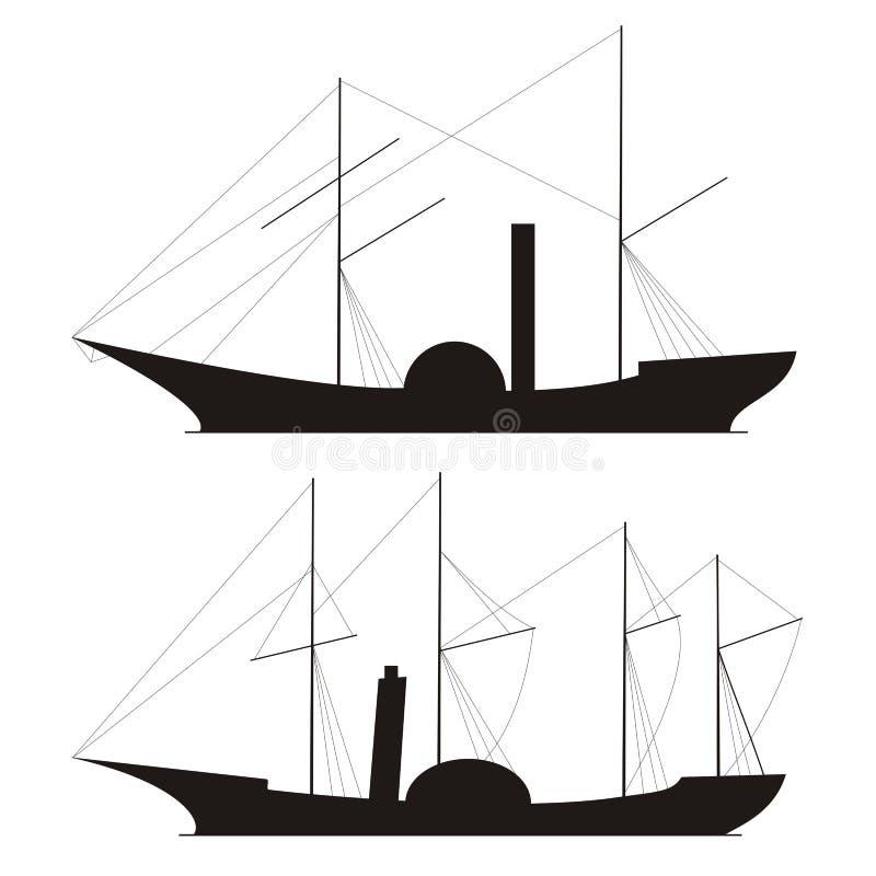 Vapore illustrazione vettoriale