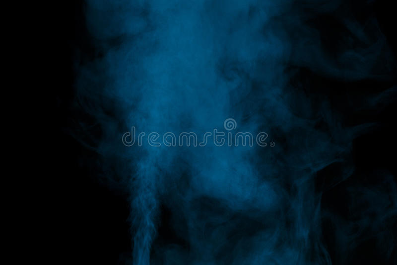 Vapore acqueo dell'acquamarina fotografia stock