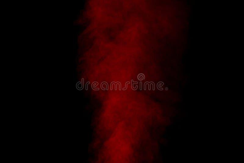 Vapore acqueo rosso fotografie stock libere da diritti