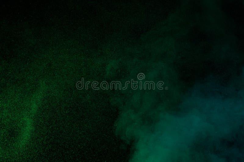Vapore acqueo verde fotografia stock