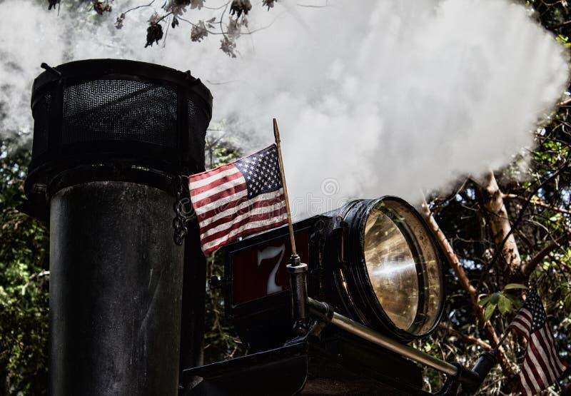 Vapore di U.S.A. fotografie stock libere da diritti