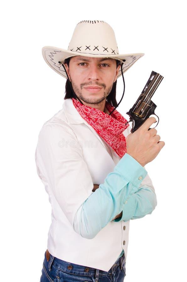 Download Vaquero aislado foto de archivo. Imagen de americano - 41915148