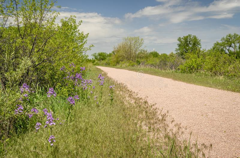 Vaquero Trail en Nebraska imagen de archivo
