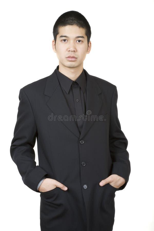 Varón asiático joven 2 foto de archivo