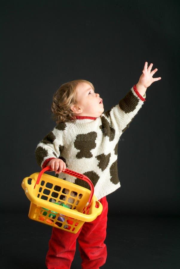 Varón de nueve meses del bebé foto de archivo libre de regalías