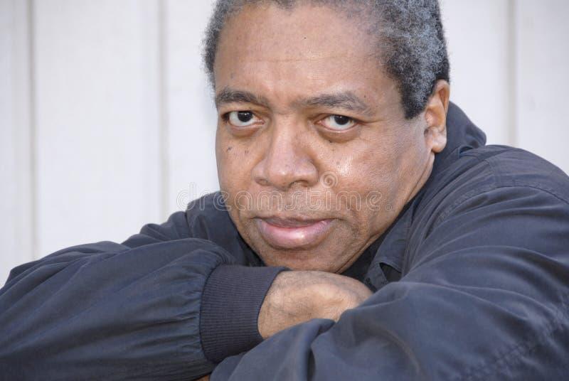 Varón del afroamericano. fotografía de archivo
