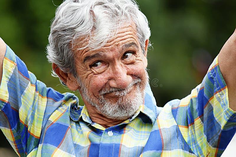Varón feliz del Latino fotos de archivo