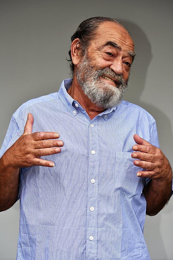 Varón feliz del Latino fotos de archivo libres de regalías
