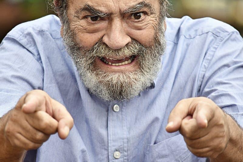 Varón trastornado del Latino foto de archivo libre de regalías