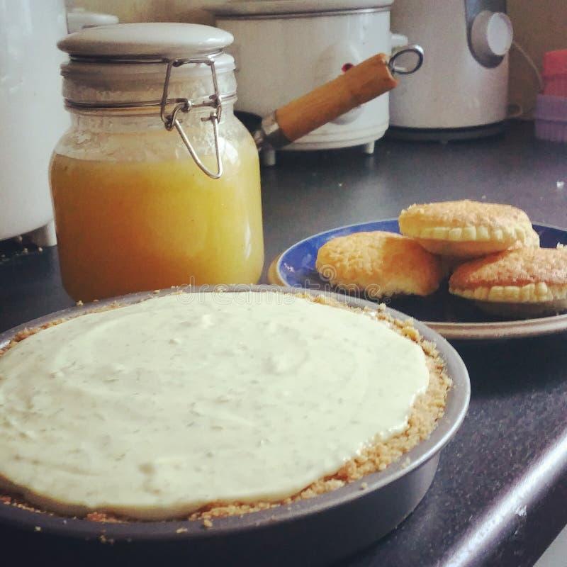 var kunde den hemlagade pien för mat royaltyfria foton