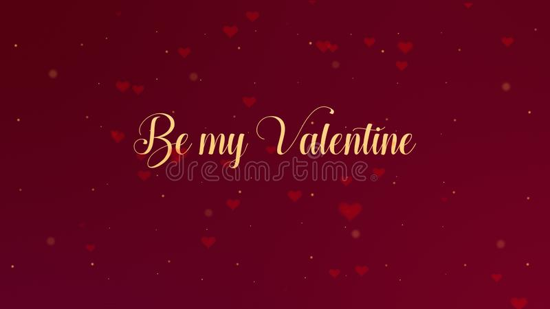 Var min Valentine Love bikt E arkivfoto