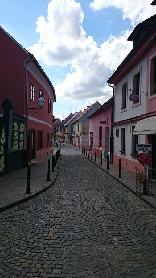 Varaž DIN Uska ulica stock afbeelding