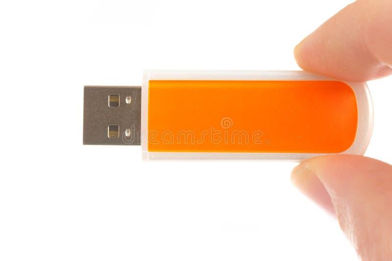 Vara da memória de computador do USB imagens de stock royalty free