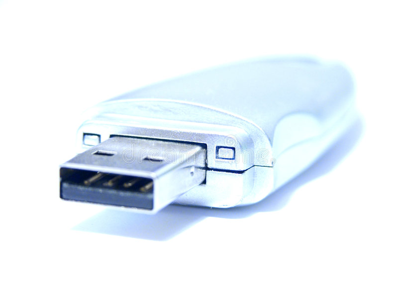 Vara da memória do USB fotografia de stock royalty free