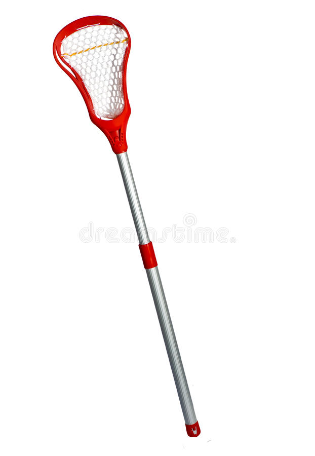 Vara do Lacrosse fotografia de stock royalty free