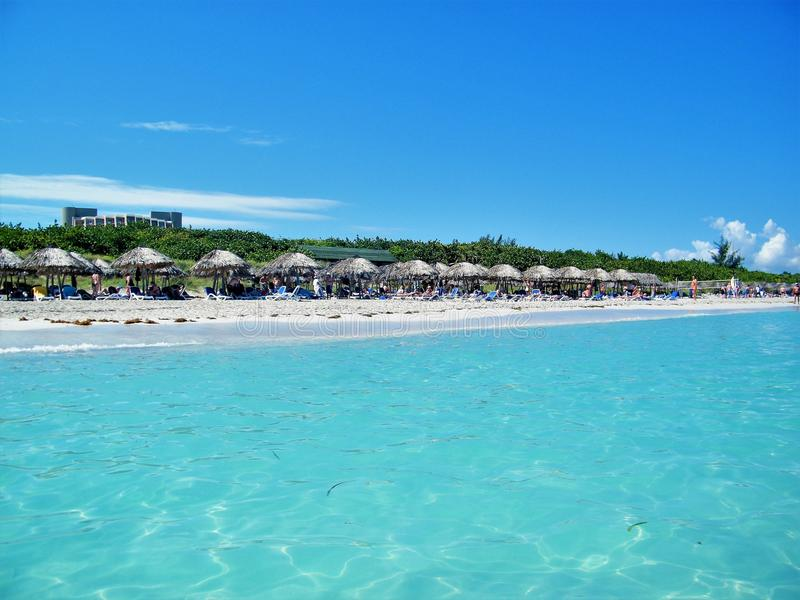 Varadero. (Spanish pronunciation: [baɾaˈðeɾo]) is a resort town in the province of Matanzas, Cuba, and one of the royalty free stock photography